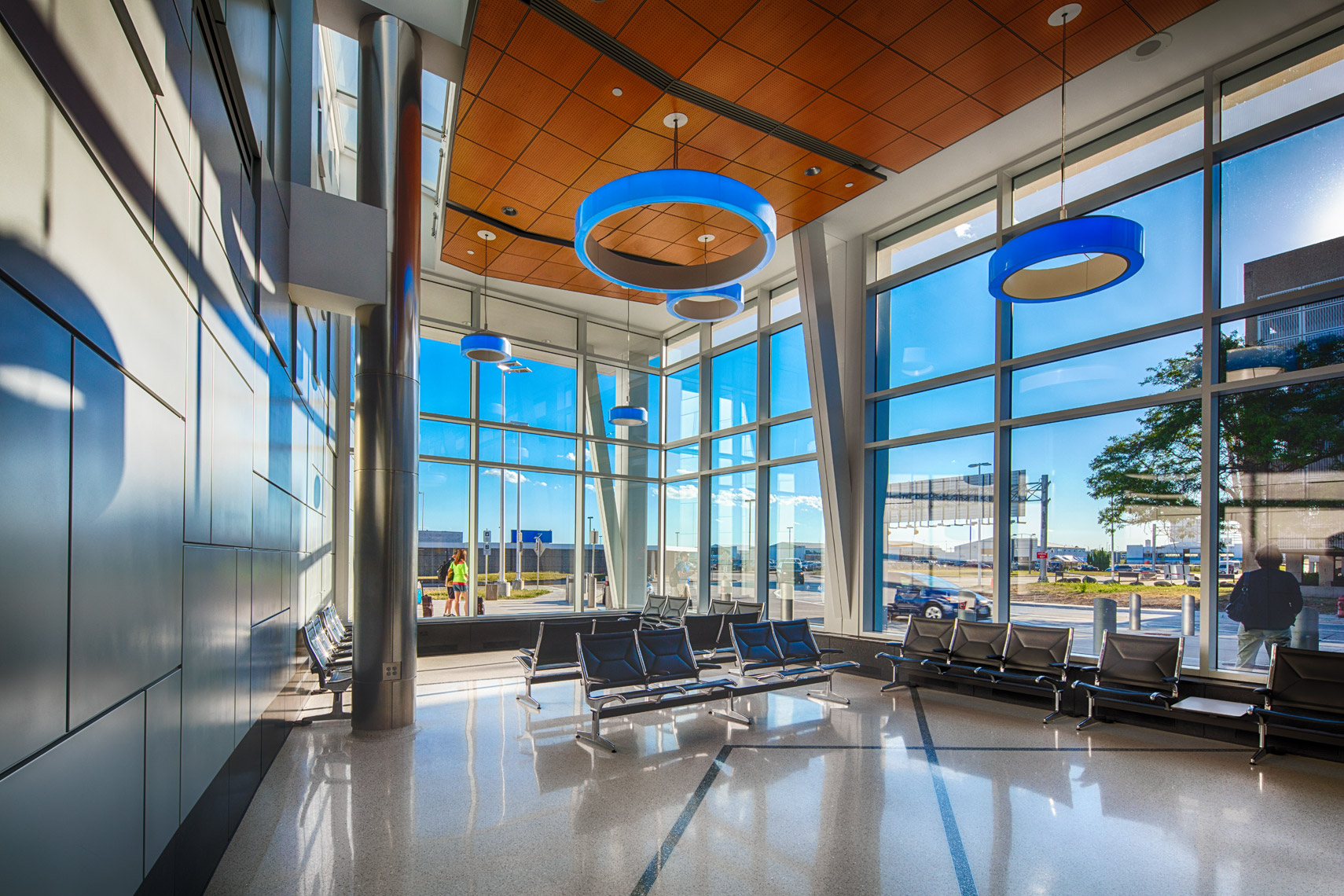 General Mitchell International Airport Terminal Engberg Anderson Architects